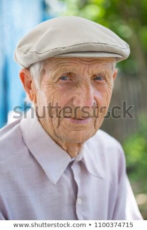 beekeeper elderly man stock photo © jossdiim