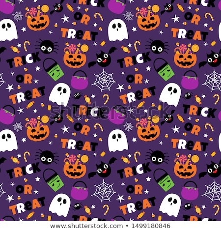 mutlu · halloween · kutlama · poster · karanlık - stok fotoğraf © netkov1
