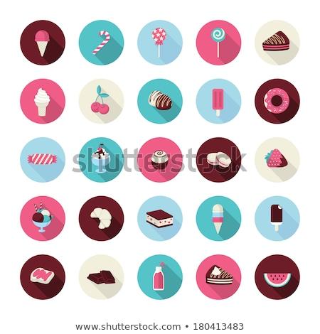 Wyroby cukiernicze ciasta ciasto infografiki żywności Zdjęcia stock © netkov1
