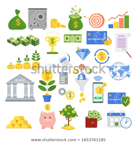 finansal · başarı · dizayn · stil · örnek · beyaz - stok fotoğraf © robuart