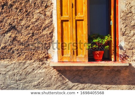 Medieval francés piedra edificio pared colmena Foto stock © grafvision