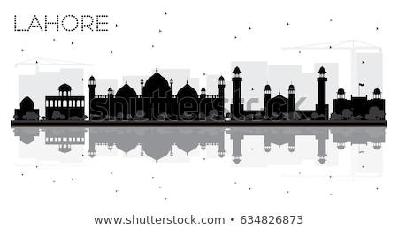 красный · башни · мечети · мнение · стены · искусства - Сток-фото © lichtmeister