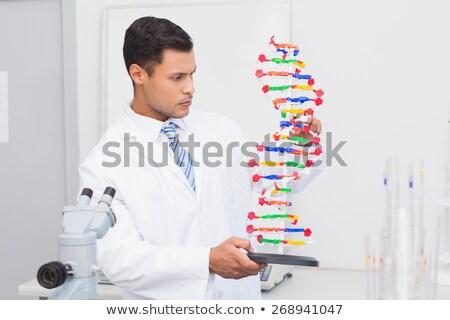 DNA鑑定を · コード · ベクトル · アイコン · 実例 · スタイル - ストックフォト © jossdiim