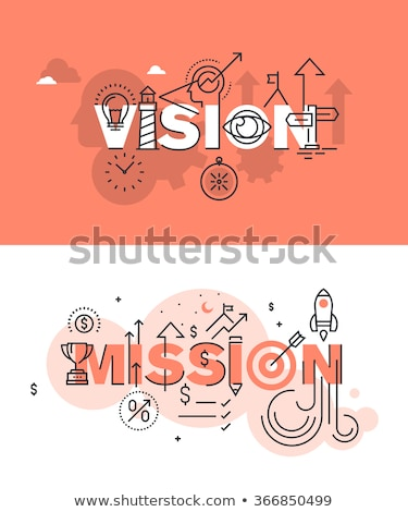 Successful Mission Website with People Charts Stock photo © robuart