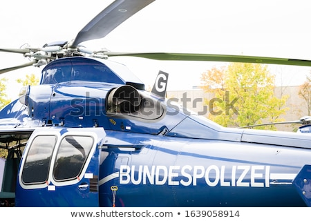 Federal Police (Bundespolizei) Helicopter Stock photo © AndreyPopov