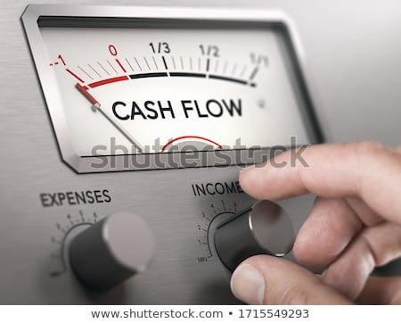Cash Flow Crisis Concept. Risk of insolvency. Stock photo © olivier_le_moal
