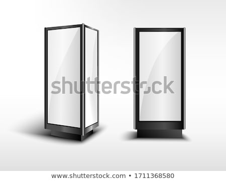 Digital screen display stand Stock photo © montego