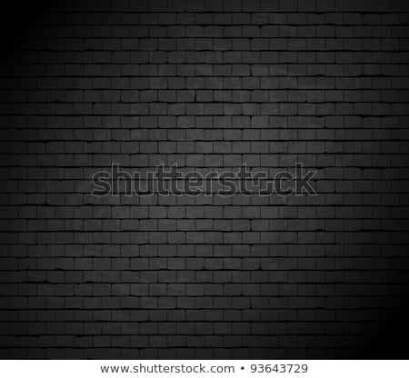 brick wall with black hole Stock photo © sahua