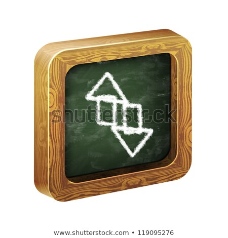painted with chalk Network, Server and Hosting icons  stock photo © stoyanh