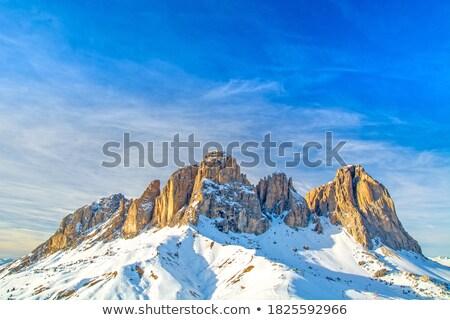 Sella and Langkofel mountain Stock photo © Antonio-S