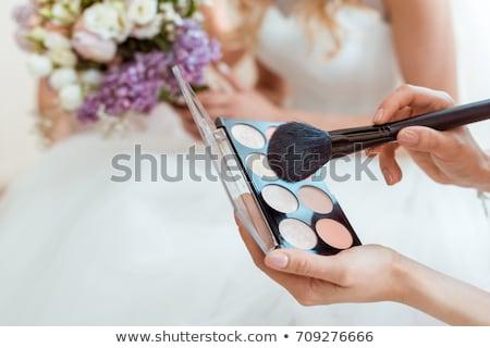 Wedding makeup Stock photo © georgemuresan