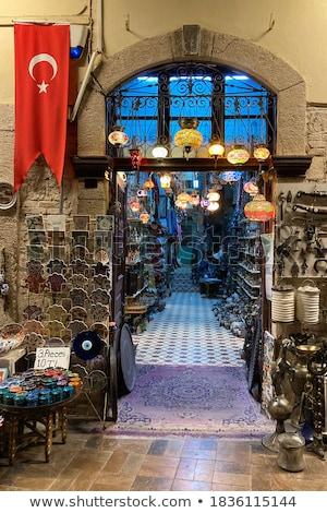 turecki · wykonany · ręcznie · obiektów · ceramiki · tradycyjny · projekty - zdjęcia stock © hypnocreative