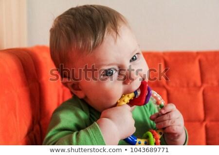 Fiú kifejez szeretet barátnő park nő Stock fotó © get4net
