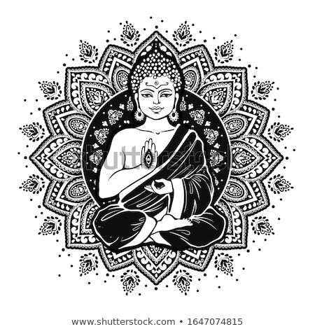 buddha and chakras Stock photo © mariephoto