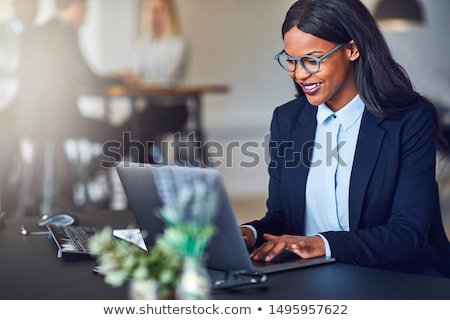 Confident businesswoman Stock photo © lovleah