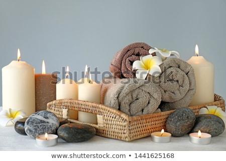 velas · preto · fogo · natureza · fundo - foto stock © pzaxe
