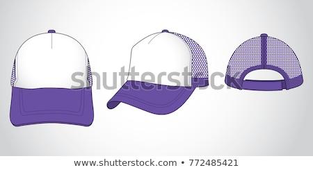 purple hat with a strap Stock photo © RuslanOmega