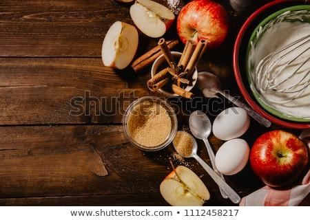 apple pie ingredients stock photo © joannawnuk
