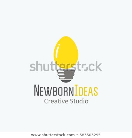 huevo · idea · frescos · auricular · bocadillo · naturaleza - foto stock © designsstock