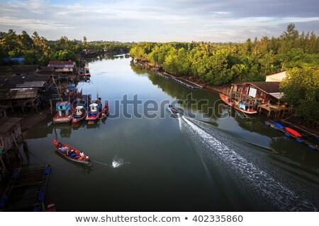 Сток-фото: Таиланд · деревне · традиционный · тайский · дерево · древесины