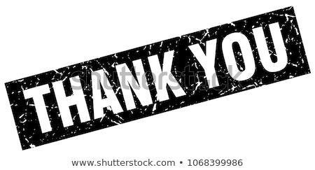 Thanks rubber stamp Stock photo © IMaster