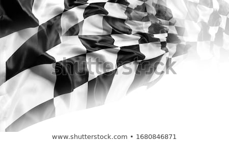 abstract race flag concept Stock photo © pathakdesigner
