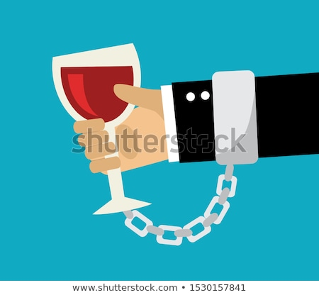 Alkolizm kelepçe bira güvenlik içmek adalet Stok fotoğraf © pterwort