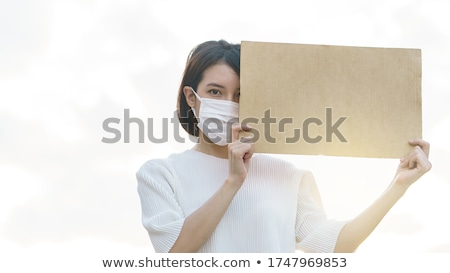 Fight Blank Sign Stock photo © Lightsource