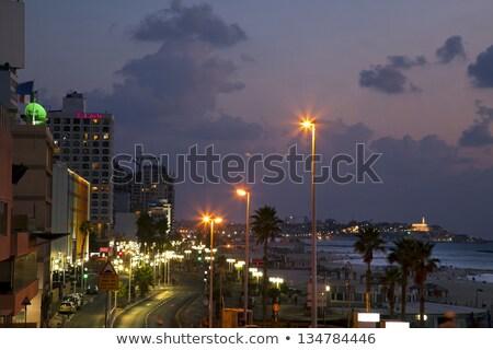 spiaggia · view · spiagge · vecchio · città - foto d'archivio © eldadcarin