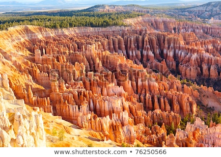 famous amphitheater of Bryce Canyon Stock photo © vwalakte