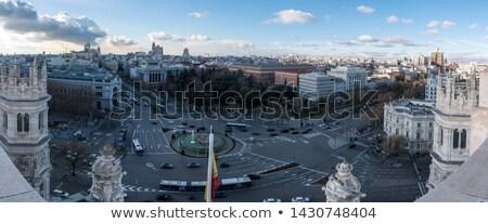Banco Espanha telhado topo céu casa Foto stock © Bertl123