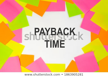 payback button stock photo © tashatuvango