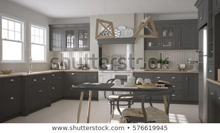 minimalistic architecure Stock photo © arquiplay77