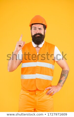 Builder with genius idea Stock photo © photography33
