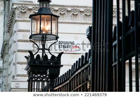 Downing Street in London Stock photo © chrisdorney