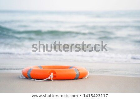 Lifesaving equipment at beach Stock photo © bigandt