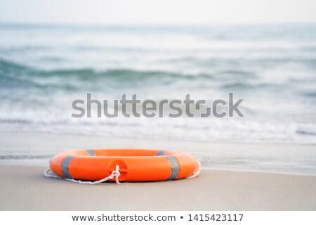plaj · hayat · güneşli · yaz · gün - stok fotoğraf © bigandt