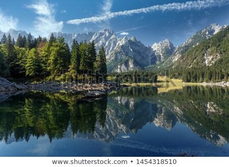 Lago morena perfección espectacular parque agua Foto stock © ca2hill