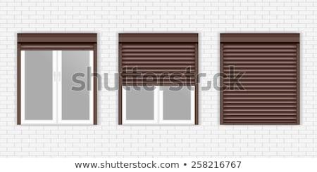 Bruin geïsoleerd witte abstract deur Stockfoto © konturvid