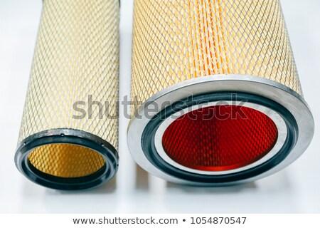 autóipari · szűrő · ikon · technológia · bolt · fekete - stock fotó © tuulijumala