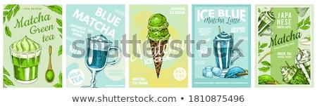 blue ice stock photo © sailorr
