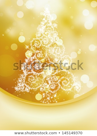 elegant gold christmas card eps 8 stock photo © beholdereye