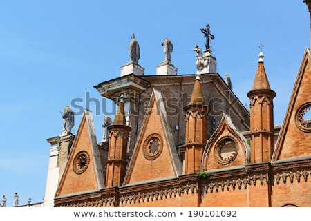 The Cathedral of Saint Peter the Apostle (Duomo di Mantova) in M Stock photo © aladin66