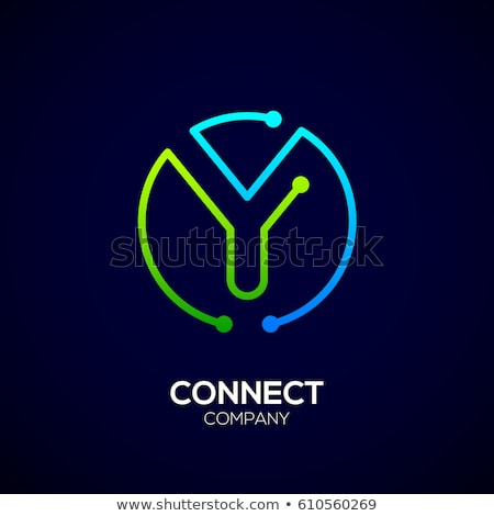logotype circle letter y symbol icon Stock photo © blaskorizov
