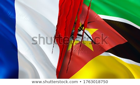 France and Mozambique Flags  Stock photo © Istanbul2009