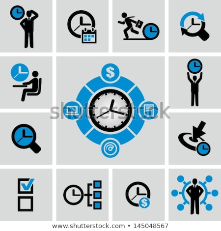 Value of Time Icon Stock photo © WaD