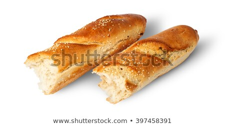 francês · isolado · branco · comida · pão - foto stock © cipariss