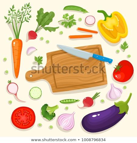 Fresh beetroots on cutting board Stock photo © Digifoodstock