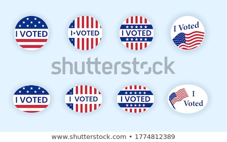i voted sticker stock photo © icemanj