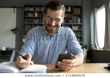 Important text on notepad  Stock photo © fuzzbones0